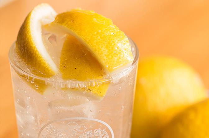 サワー 作り方 レモン