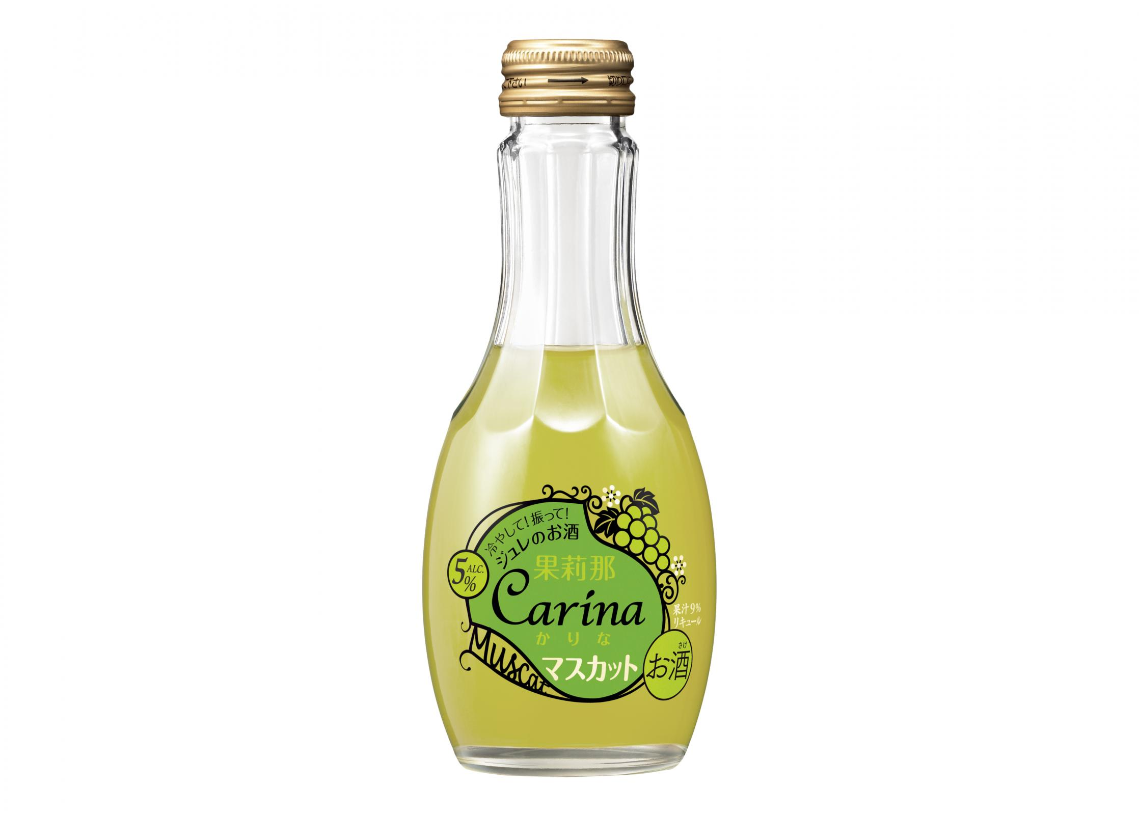 """宝酒造株式会社は、""""ジュレのお酒「果莉那-Carina-」""""<マスカッ... ジュレのお酒「果莉"""