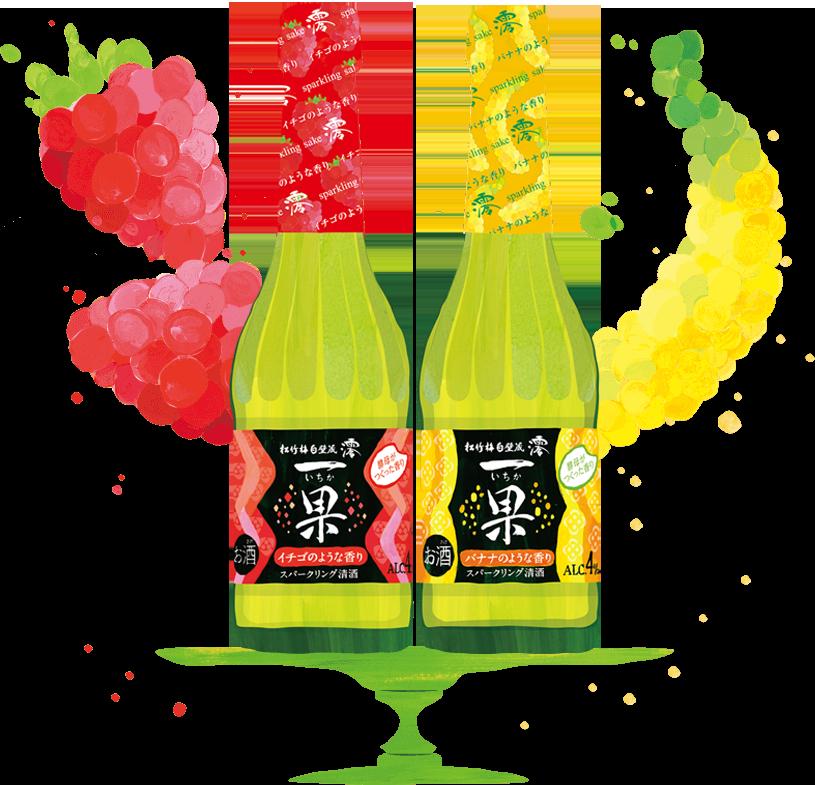澪「一果」スパークリング清酒 | 清酒 | 商品紹介 | 宝酒造株式会社